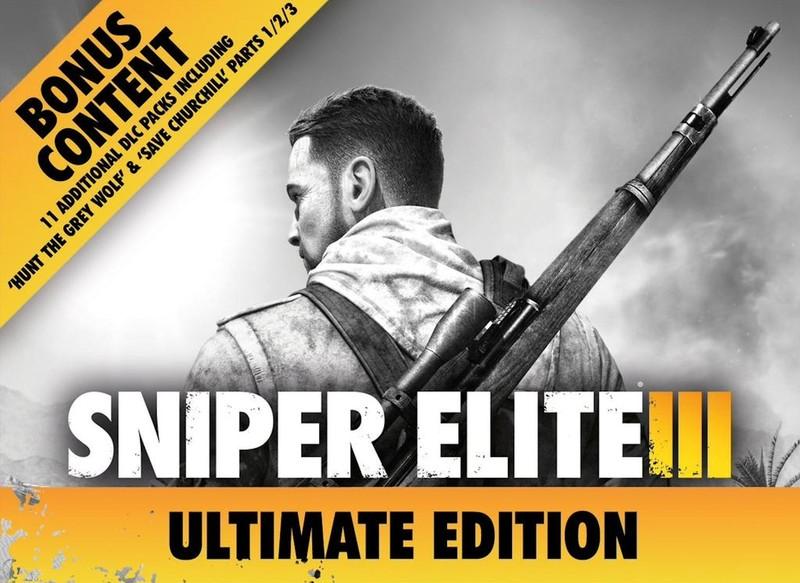 امروز بازی Sniper Elite III Ultimate Edition رونمایی شد!