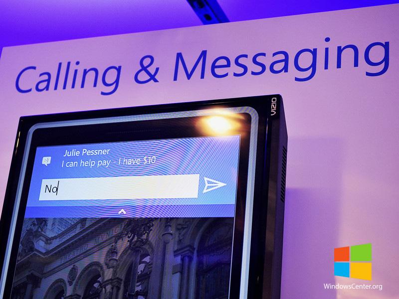 اسکایپ (Skype) به صورت پیش فرض در ویندوز ۱۰ با امکانات جدید قرار دارد.