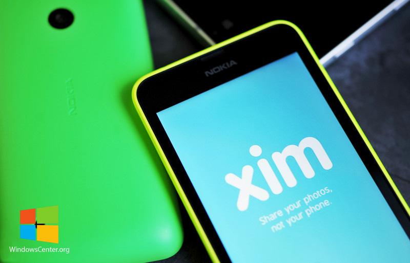 XIM برنامه ای فوق العاده برای اشتراک گذاری عکس از مایکروسافت!