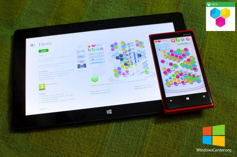 بازی جذاب Hexic از XBOX برای Windows phone و Windows