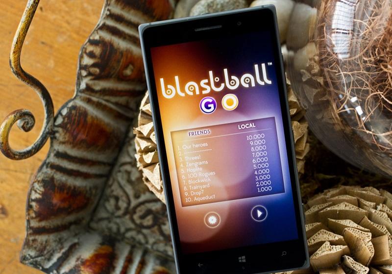 بازی BlastBall Go برای ویندوزفون