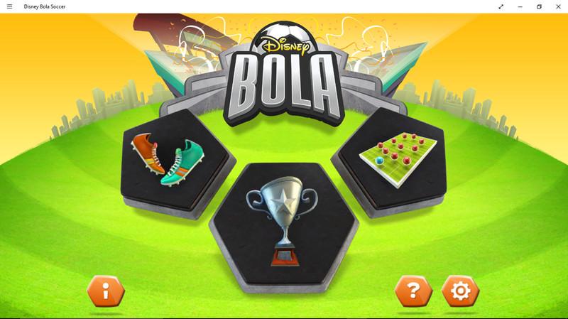 بازی فوتبال دیزنی (Disney Bola Soccer) برای ویندوز و ویندوزفون