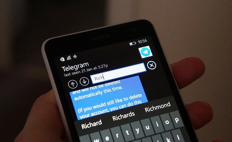 telegram-search-lede