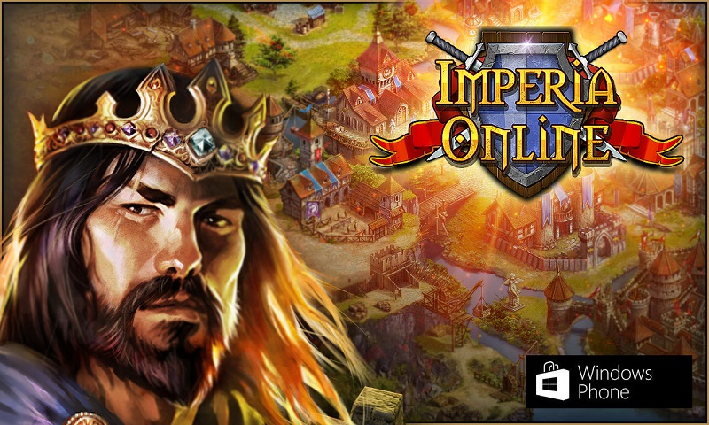 بازی استراتژی عالی Imperia Online از Game Troopers برای ویندوزفون