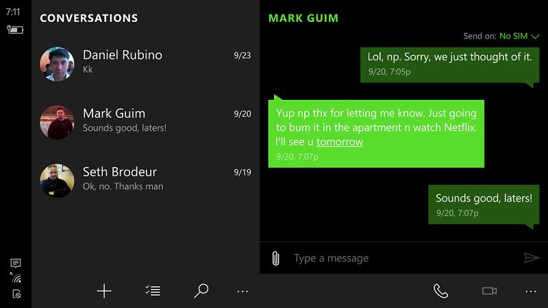 مایکروسافت برنامه Messaging را برای ویندوز ۱۰ موبایل آپدیت کرد!