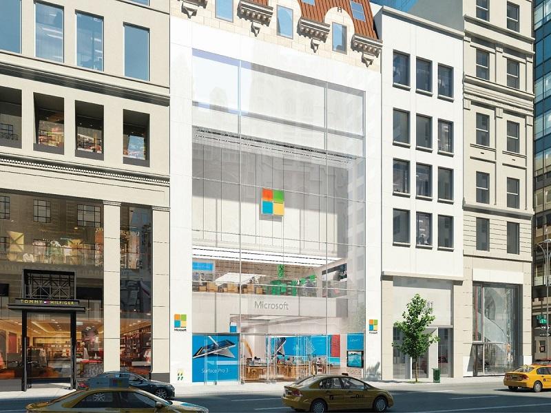 افتتاح بزرگترین فروشگاه مایکروسافت در تاریخ ۲۶ اکتبر در New York