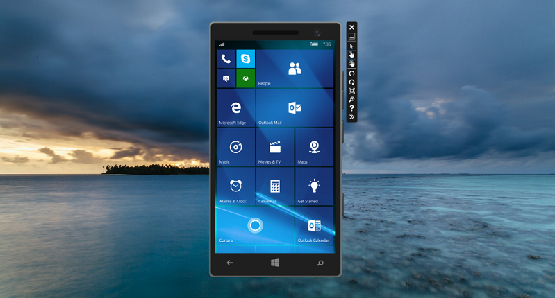Windows 10 Mobile Emulator build 10586 منتشر شد.