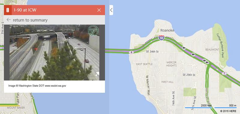 امکان مشاهده بیش ۳۵۰۰۰ دوربین کنترل ترافیک در ۱۱ کشور جهان در Bing Map