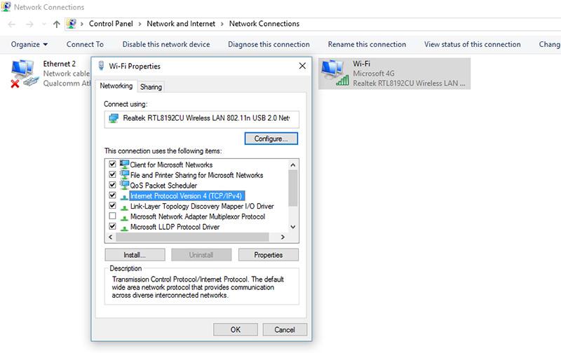 DNS-Windows10