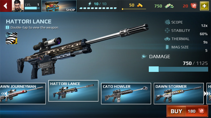 Sniper_Fury_Weapons