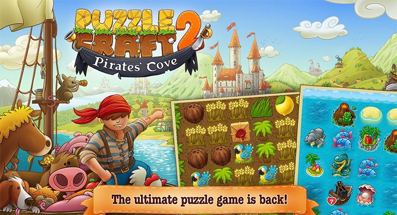 بازی یونیورسال و جذاب Puzzle Craft 2 برای ویندوز ۱۰