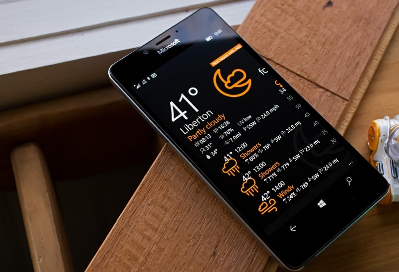 Vieather اپلیکیشن زیبا و کم حجم به صورت یونیورسال برای اعلام آب و هوا