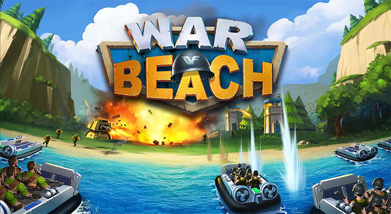 دانلود بازی استراتژی و جذاب War Of Beach برای ویندوز ۱۰