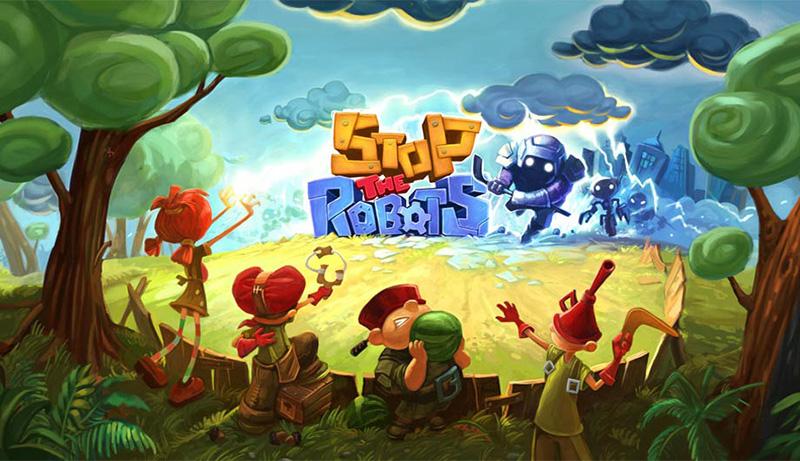 بازی گرافیکی و جذاب Stop The Robots به صورت یونیورسال برای ویندوز ۱۰