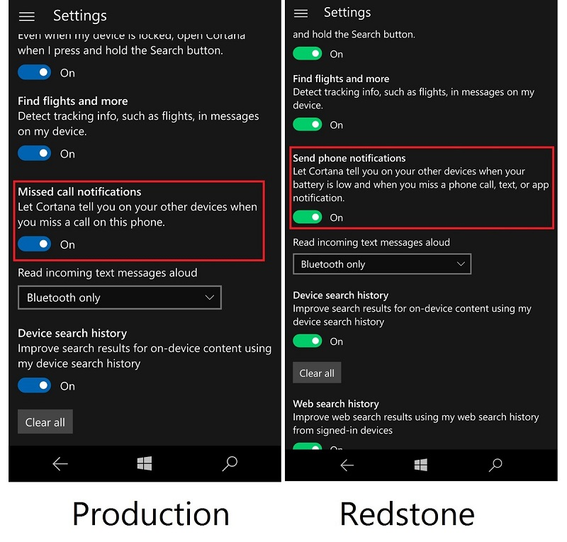 cortana-missed-text-app-beforeafter