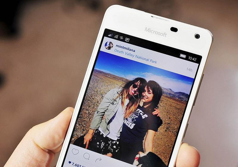 نسخه نهایی Instagram برای ویندوز ۱۰ موبایل منتشر شد.