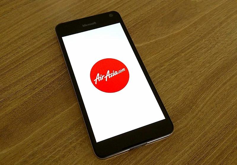 اپلیکیشن رسمی Air Asia به صورت یونیورسال منتشر شد.
