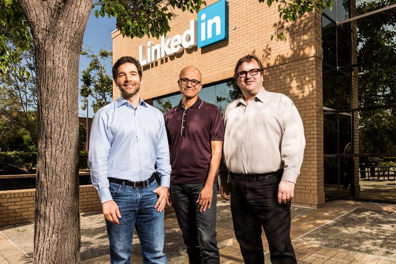 مایکروسافت با مبلغ ۲۶٫۲ میلیارد دلار شبکه اجتماعی Linkedin را خرید!