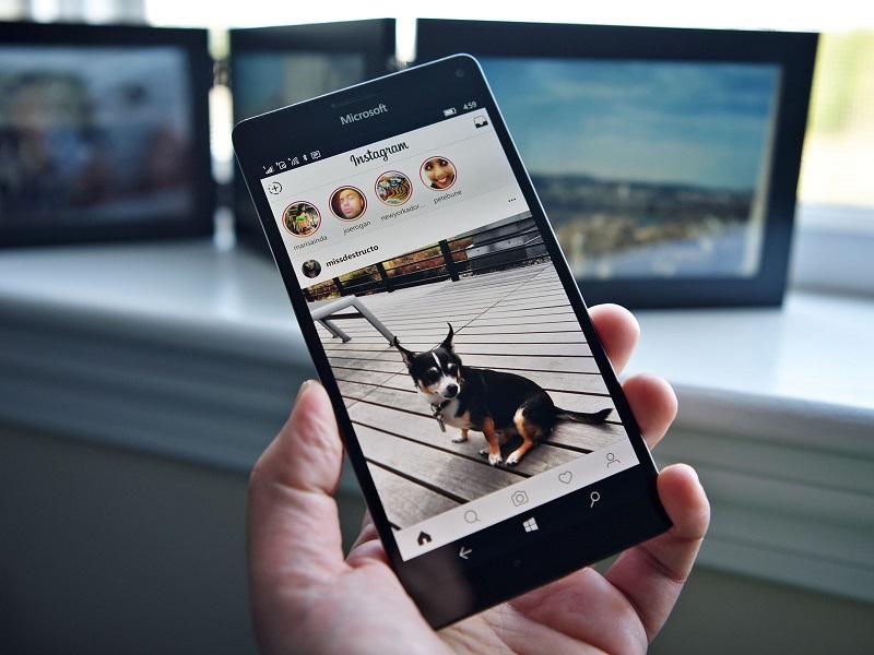 دانلود اینستاگرام جدید برای ویندوز ۱۰ موبایل با قابلیت Stories