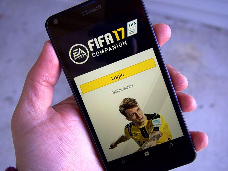 Companion کمپانی EA برای FIFA 17 منتشر شد.