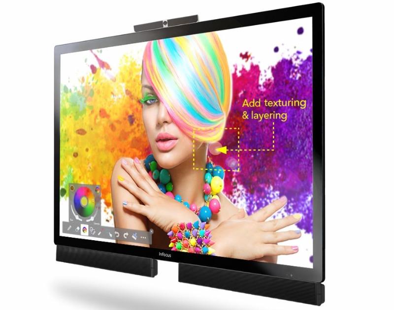 کامپیوتر غول آسای InFocus Mondopad Ultra با سایز تا ۸۵ اینچ!