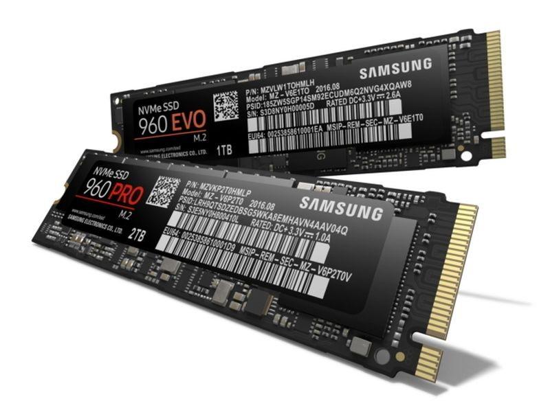 حافظه های جدید SSD NVMe جدید Samsung با حجم تا ۲ ترا بایت