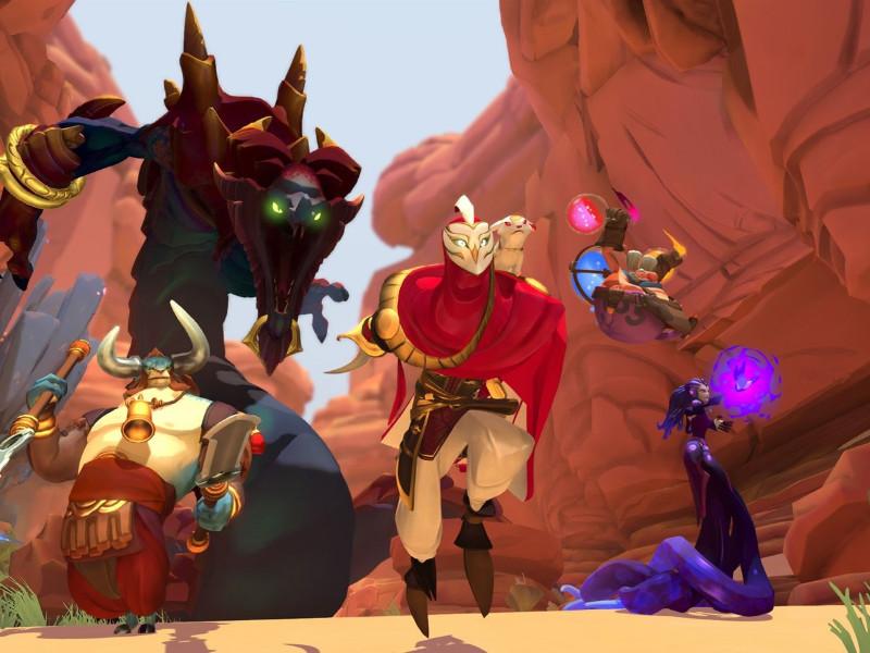 بازی فوق العاده گرافیکی Gigantic برای ویندوز ۱۰ رایگان منتشر شد.