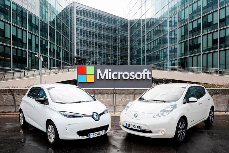 رونمایی مایکروسافت از Microsoft Connected Vehicle Platform