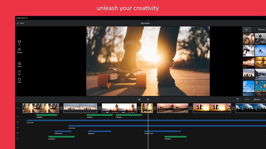 اپلیکیشن Video Editor 10 را برای ویرایش ویدیو در ویندوز ۱۰ از دست ندهید!