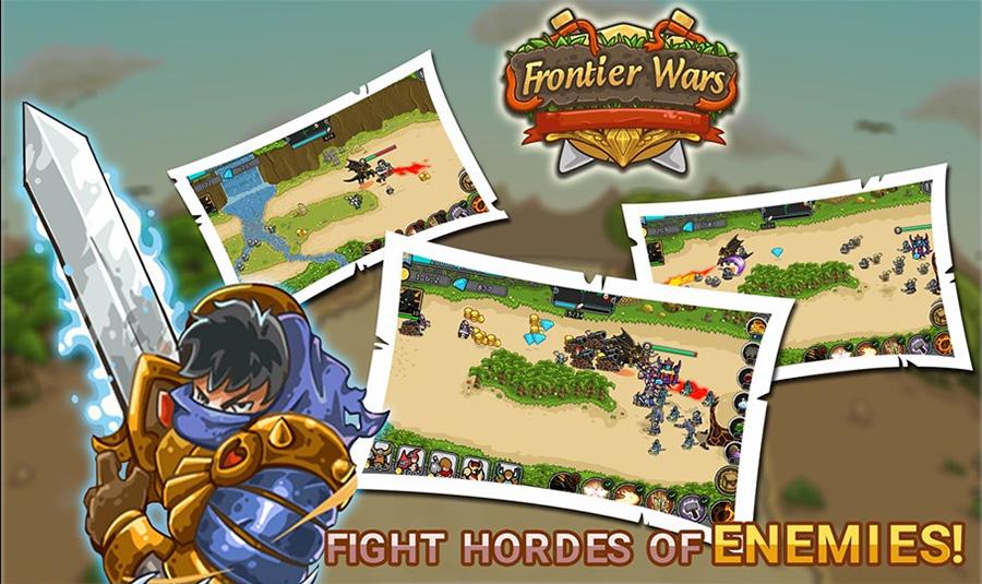 بازی استراتژی فوق العاده جذاب و رایگان Frontier Wars را دانلود کنید!