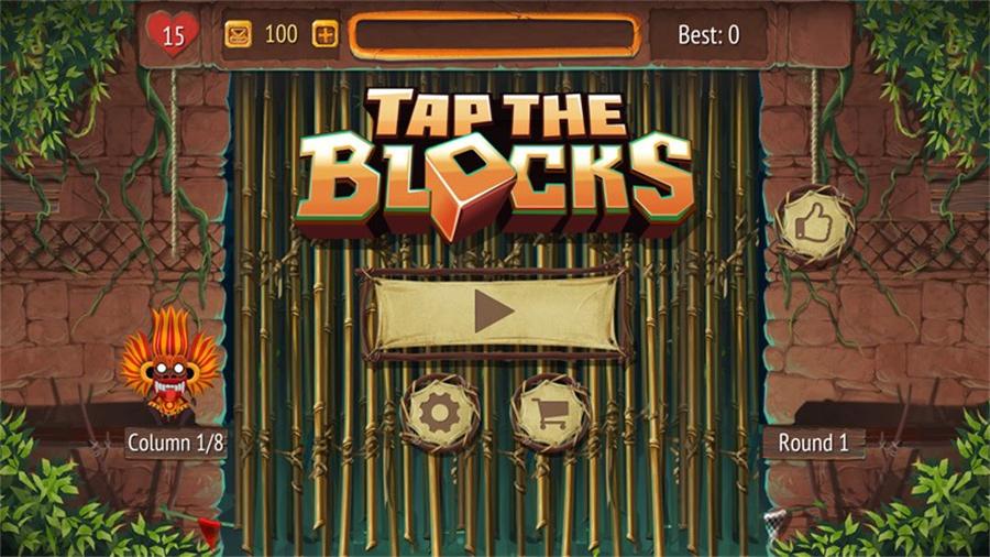 بازی جذاب Tap the Blocks را بروی موبایل، تبلت و کامپیوتر خود دانلود کنید!