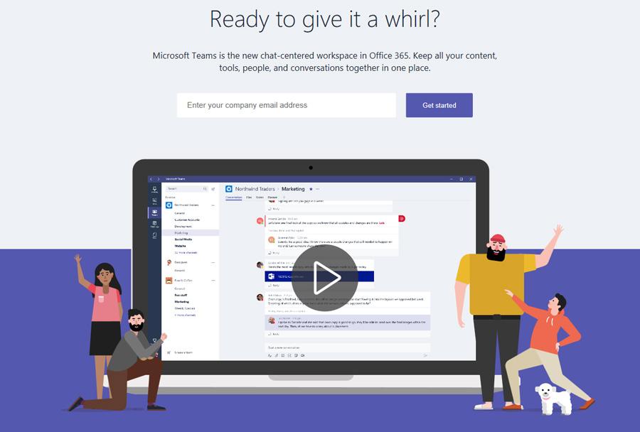 نسخه نهایی و رسمی Microsoft Teams برای کاربران آفیس ۳۶۵ business