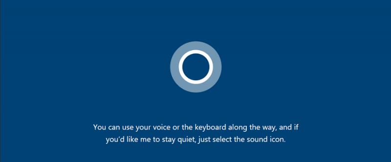 از این پس کرتانا به شما در نصب ویندوز ۱۰ کمک می کند.