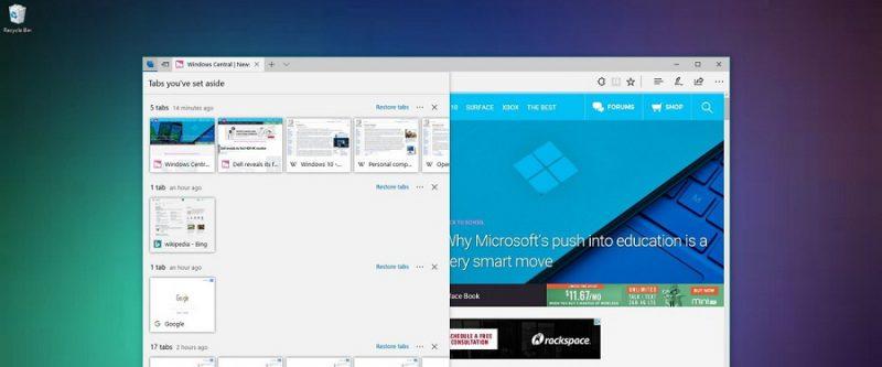 قابلیت های جدید Microsoft Edge در آپدیت Windows 10 Creators