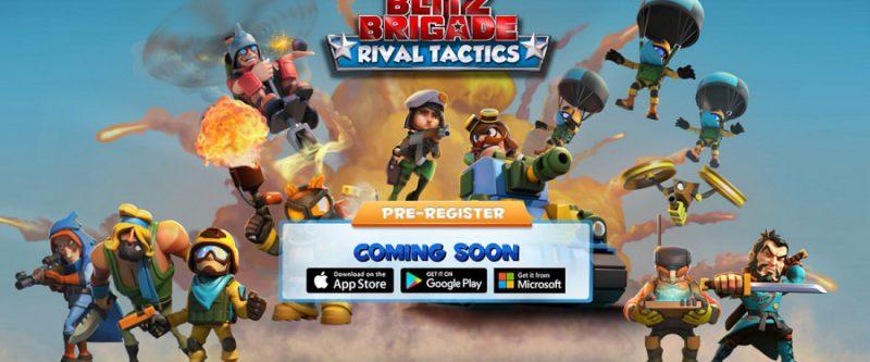 دانلود بازی Blitz Brigade: Rival Tactics برای ویندوز ۱۰ موبایل و PC