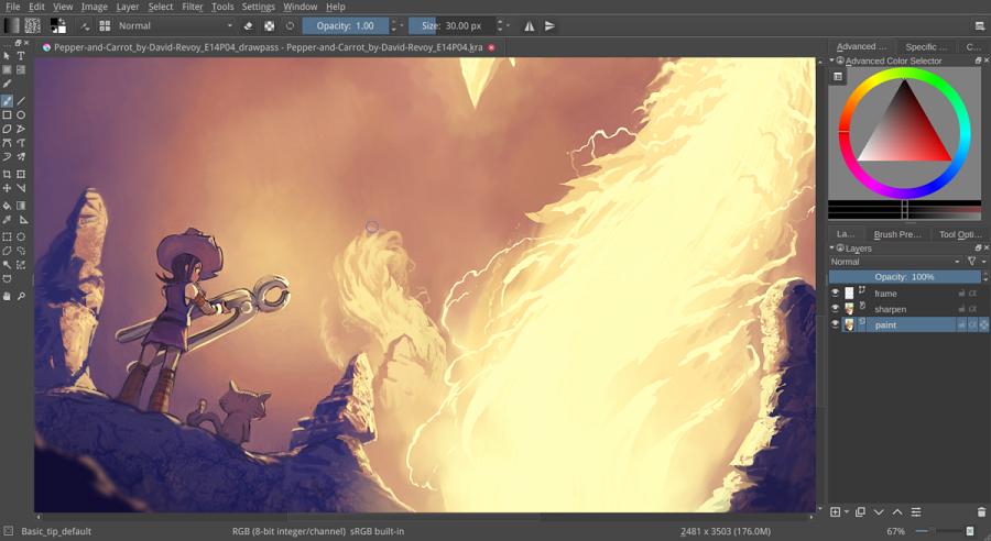 اپلیکیشن فوق العاده و رایگان Krita برای خلق آثار گرافیکی در ویندوز ۱۰