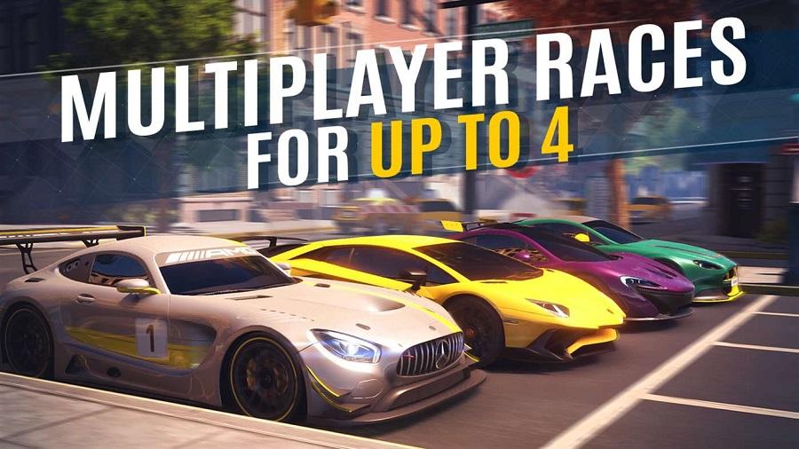 بازی Asphalt Street Storm Racing برای موبایل، تبلت و کامپیوتر ویندوز ۱۰