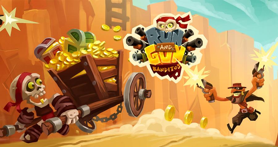 بازی جذاب Run & Gun – Banditos از کمپانی Ludus Studio برای ویندوز ۱۰ موبایل و PC