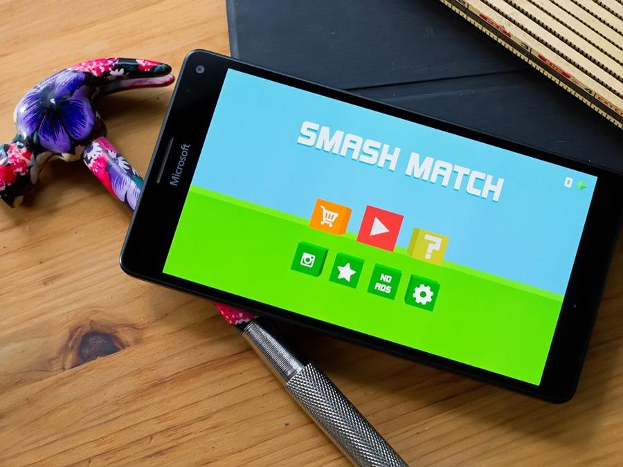 بازی ساده و در عین جذاب Smash Match را برای موبایل و تبلت ویندوز ۱۰ خود دانلود کنید.