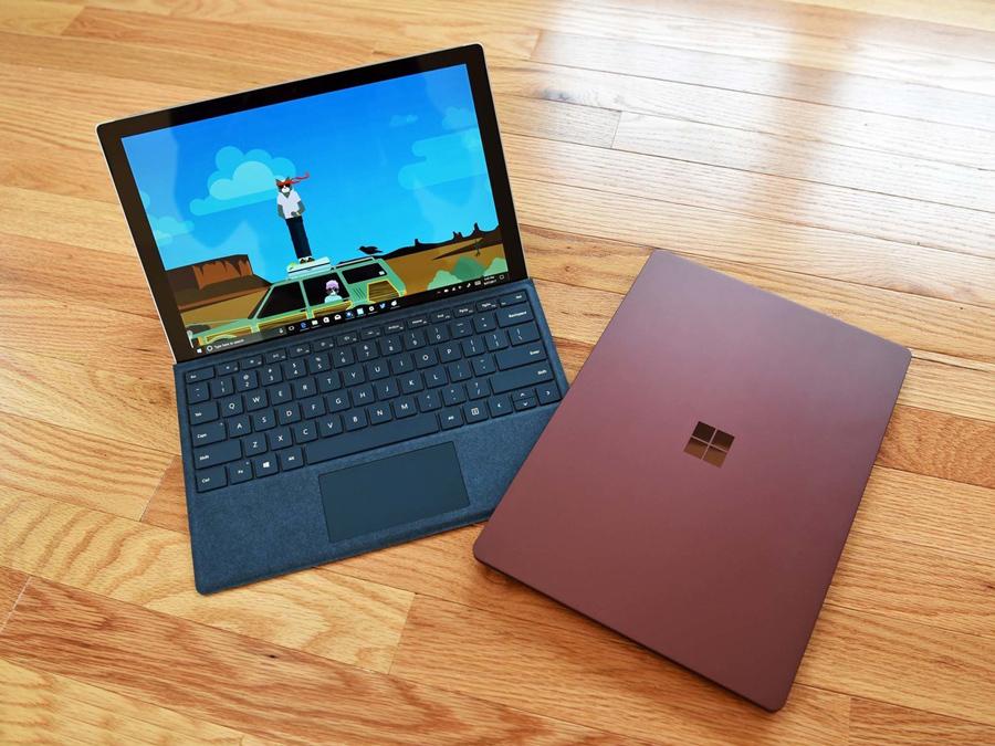 نهایت زیبایی و کارایی در لپ تاپ قدرتمند Surface Laptop مایکروسافت