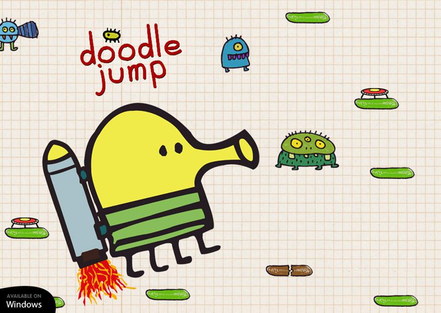 دانلود بازی Doodle Jump برای ویندوز ۱۰ موبایل به صورت رایگان