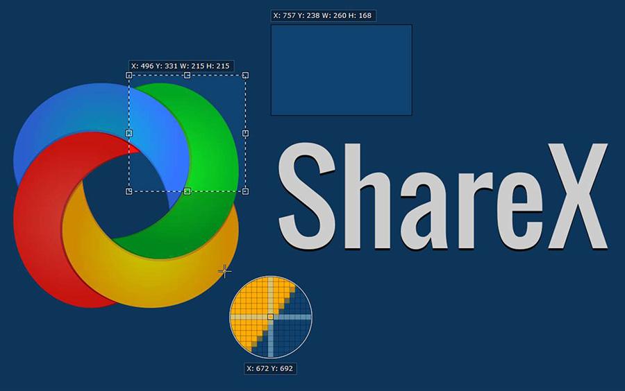 ShareX برنامه کاربردی ضبط و اشتراک گذاری بخش و یا تمام صفحه نمایش به صورت عکس با GIF