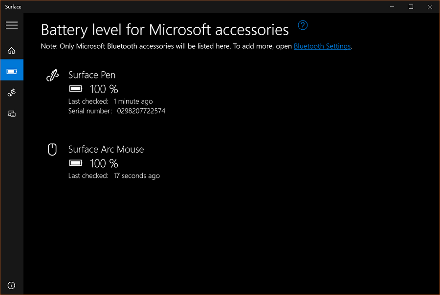 surface-app-battery-level-page