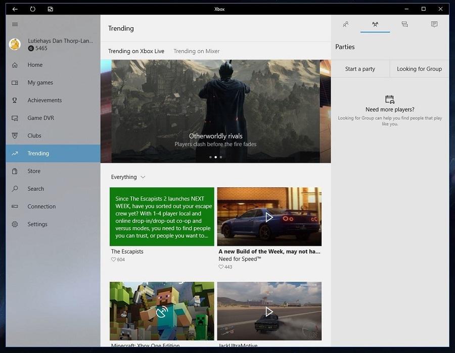 دانلود نسخه جدید اپلیکیشن XBOX برای ویندوز ۱۰ با تم روشن و تغییرات جدید