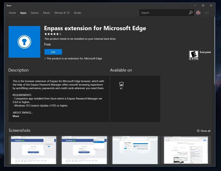 enpass-edge-extension-store