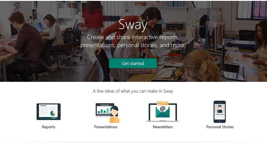 Sway (اسوی) چیست و چگونه از آن برای ایجاد و ارایه مطالب خود استفاده کنیم؟
