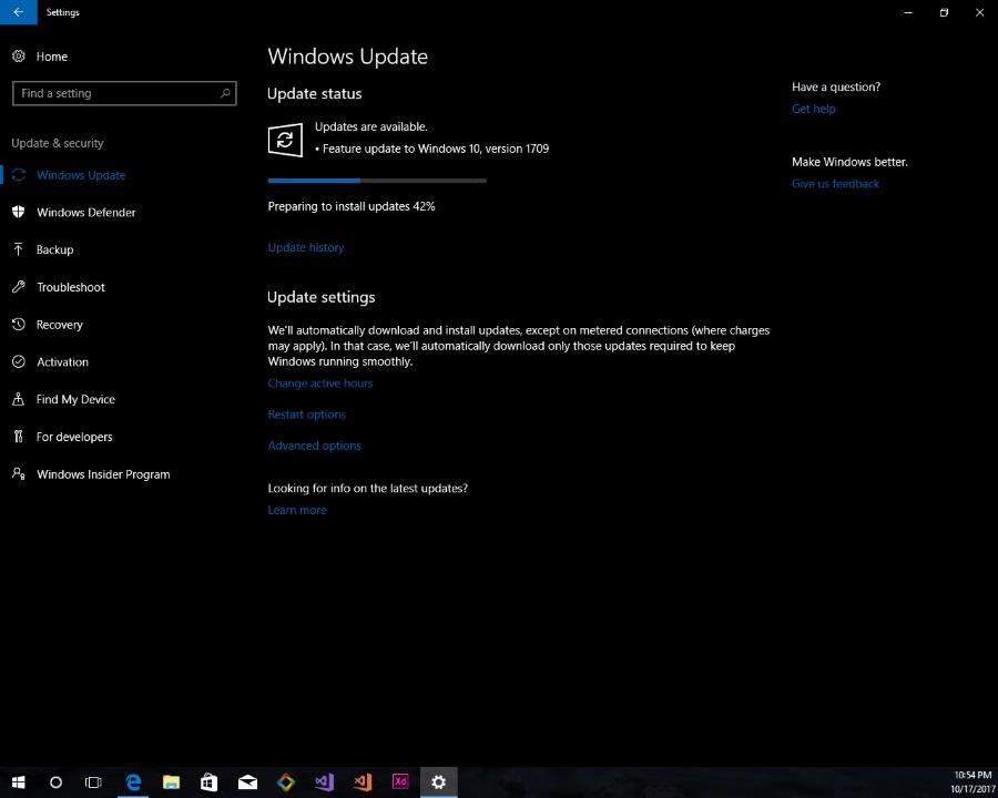 نسخه جدید ویندوز ۱۰ با نام Windows Fall Creators Update منتشر شد.