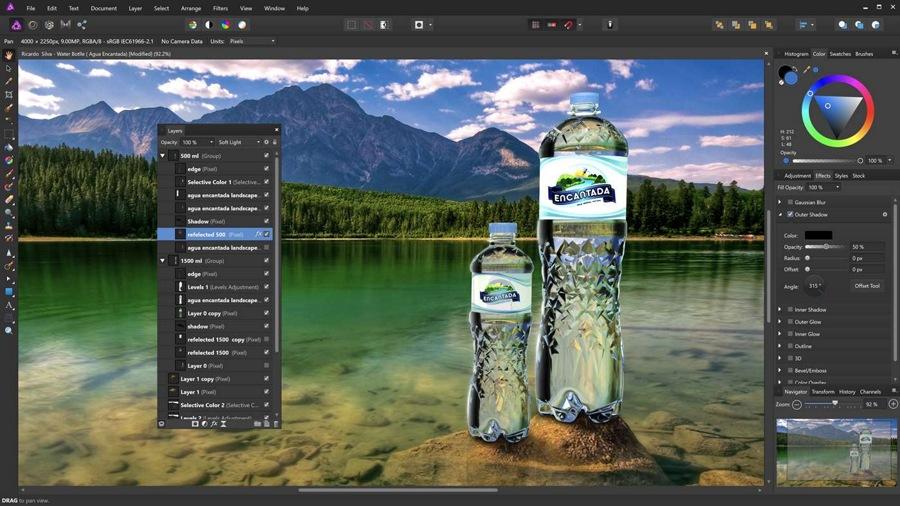 خرید و دانلود دو اپلیکیشن گرافیکی فوق العاده Affinity برای گرافیست های حرفه ای