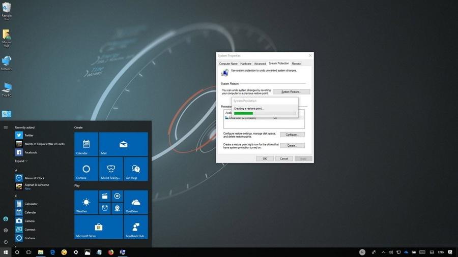 چطور از سیستم ریستور (System Restore) در ویندوز ۱۰ استفاده کنیم!؟