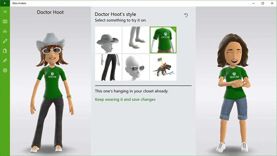 آواتار ایکس باکس وان خودتونو با Xbox Avatars در تمامی دستگاه های ویندوز ۱۰ تغییر دهید.